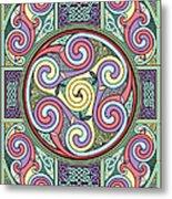 Wheel Of Celtia Metal Print