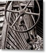 Wheel Of Labor  Metal Print