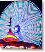Wheel Of Light Work B Metal Print