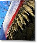 Wheel Well Icicles Metal Print