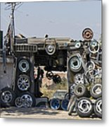 Wheels For Sale Mexico Metal Print