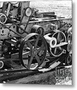 Wheels Gears And Cogs Metal Print