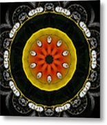 Wheels Go Round Metal Print