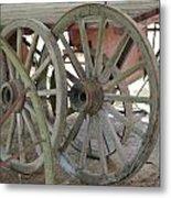 Wheels Metal Print