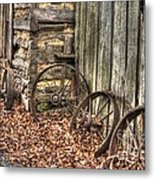 Wheels Of Time Two Metal Print