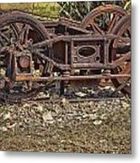Wheels V3 Metal Print