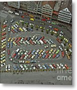 When Cars Were Colorful 1980s Metal Print by David Davies