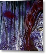 When Darkness Beckons Metal Print