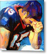 When Tebow Was A Bronco Metal Print by GCannon