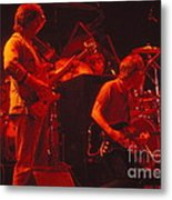 When The Music Played The Band Metal Print