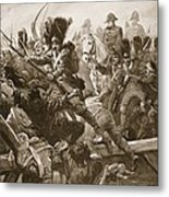 When The Remnant Of The Guard Was Seen Metal Print