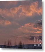 When The Skies Are Burning  Metal Print