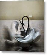 When The Teacup Breaks Metal Print