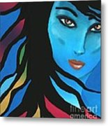 When The Time Is Right Metal Print by Hilda Lechuga