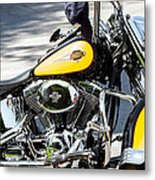 Where Do You Hang A Harley Cap Metal Print