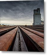Where It Goes-2 Metal Print
