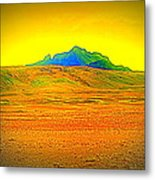 Go Far Out Where Nothing Grows, And Never Look Back   Metal Print