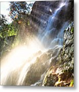 Where The Light Meets The Water Metal Print