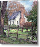 Where Time Moves Slower Metal Print by Chuck Pinson