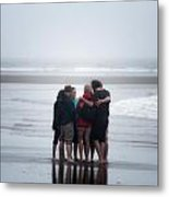 Where Two Or More Are Gathered Metal Print