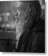 Portrait Of L A Metal Print