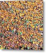 Where's Waldo Metal Print by David Bearden