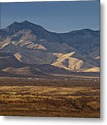 Whetstone Mountains At Sunset Metal Print