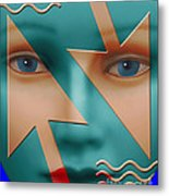 Which Direction Metal Print