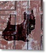 Which One Is My Dog Door? Metal Print
