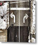 Which Way Metal Print by Margie Hurwich