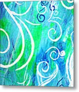 Whimsical By Jan Marvin Metal Print