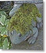 Whimsical Frog Metal Print