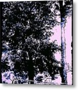 Whimsy Timber Metal Print