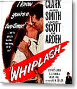 Whiplash, Us Poster, From Top Dane Metal Print
