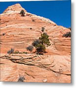 Whipped Rock Metal Print