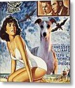 Whippet Art - Suddenly Last Summer Movie Poster Metal Print