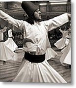 Whirling Dervishes Metal Print