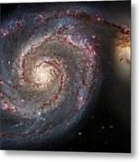Whirlpool Galaxy 2 Metal Print by Jennifer Rondinelli Reilly - Fine Art Photography
