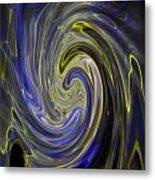 Whirly Whirls 8 Metal Print