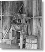 Whiskey Barrel  Metal Print