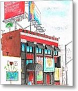 Whisky-a-go-go In West Hollywood - California Metal Print