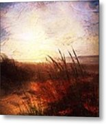 Whispering Shores By M.a Metal Print