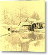 Whispers Of Mabry Mill Metal Print