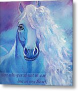 Whispers To My Heart Metal Print