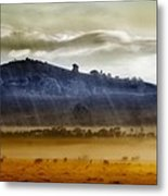 Whisps Of Velvet Rains... Metal Print