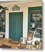 Whistle Stop Cafe Metal Print