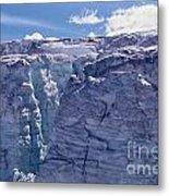Whistler Glaciers Sc125-05 Metal Print