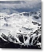 Whistler Mountain View From Blackcomb Metal Print