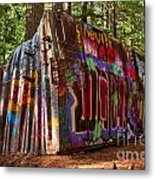 Whistler Train Wreck Metal Print