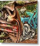 Whistler Train Wreck Stopping Point Metal Print